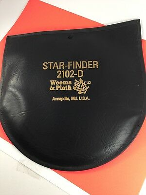 Weems & Plath Star-Finder 2102D W/Pouch - Excellent used condition