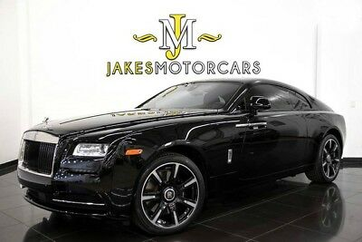 2016 Rolls-Royce Wraith ~UMBRA EDITION~$383,950 MSRP!~1 OF 15 MADE FOR U.S 2016 Rolls-Royce Wraith~ UMBRA EDITION~$383,950 MSRP~ 1 OF 15 MADE ~ 1400 MILES!