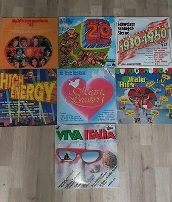 XXL Schallplatten Paket/40 Platten /gemischt /Internationales /nationales /Pop /