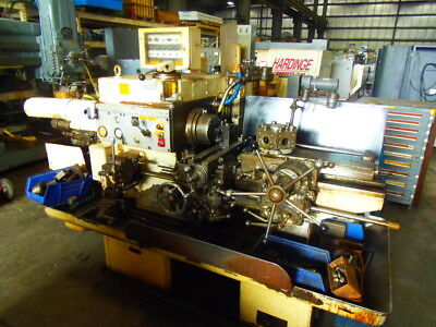 Warner Swasey No. 3, M-4630, Universal Ram Type Turret Lathe, Threading, Collets