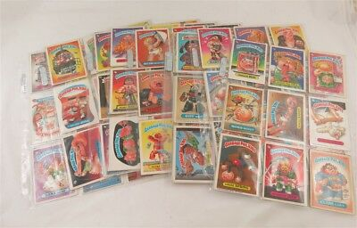 Lot of 162-Garbage Pail Kids Cards /Stickers Mixed Dates