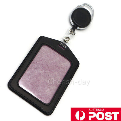 Retractable Lanyard ID Card Holder, Business Badge, Security Pass | Aus GIFT 1X
