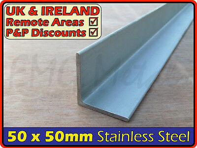 Stainless Steel Angle ║ 50 x 50 mm ║ marine,316,L section iron,profile,bracket