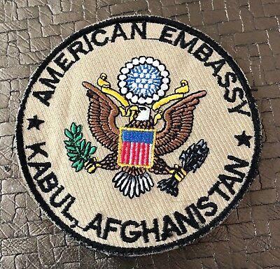American Embassy Kabul, Afghanistan patch