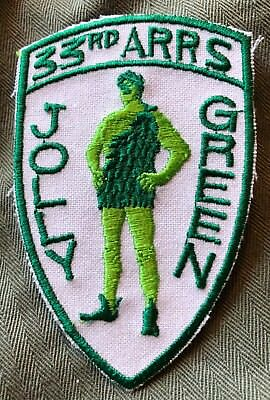 USAF 33rd AARS Tanker Squadron Patch Jolly Green
