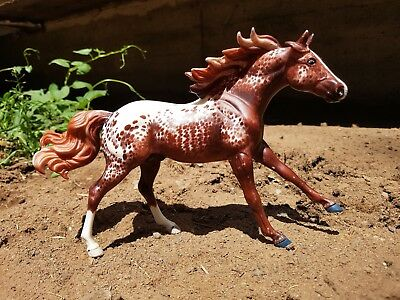 Breyer Classic Custom Etched Frolicking Appaloosa Stallion