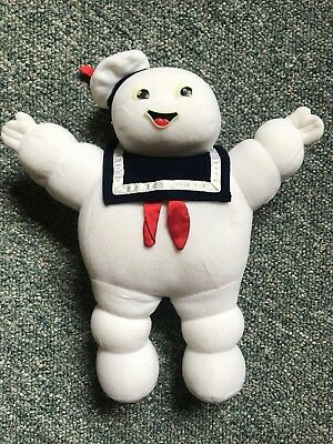 """Vintage Ghostbusters Stay Puft Marshmellow Man Plush 15"""""""