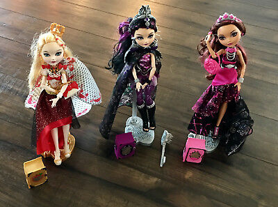 Ever After High Dolls - Legacy Day Collection Lot of 3