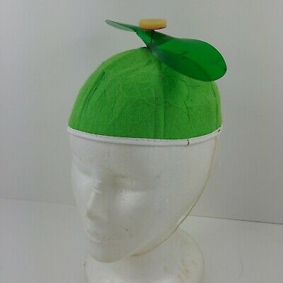 cbda5b221f7 Propeller Hat Green Beanie Copter Helicopter Cap Halloween Costume Accessory