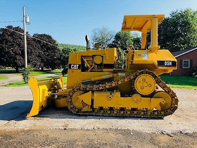 Cat D5H Crawler Track Dozer 6 Way Bob Cat Excavator Loader High Lift Caterpillar