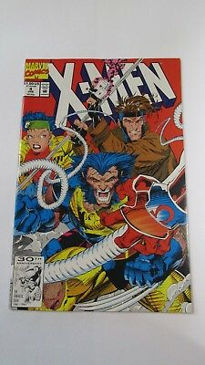 X-Men #4 (Jan 1992, Marvel) First Appearance of Omega Red