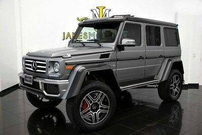 2017 Mercedes-Benz G-Class G550 4x4 Squared (FACTORY MATTE GREY) 2017 MERCEDES G550 4X4 SQUARED ~ FACTORY MATTE GREY ON BLACK~ ONLY 4600 MILES