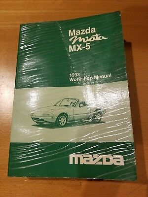 Mazda Miata MX-5 1993 Workshop Repair Manual Maintenance