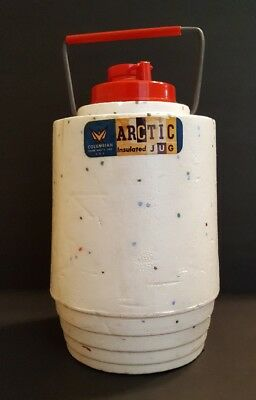 Vintage Artic Insulated Drinking Jug ~  Columbian ~ Terre Haute,Indiana..RARE???