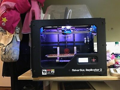 MakerBot Replicator 2 Desktop 3D Printer with multiple upgrades- Used, 600 hours