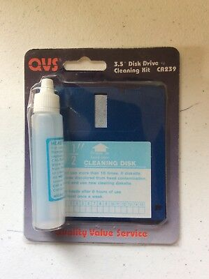 """3.5"""" Disk Drive Cleaning Kit"""