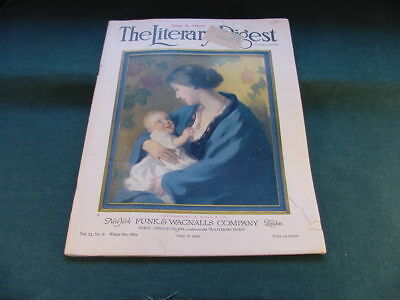 May 22 1922 The Literary Digest Magazine Alpheus P Cole Cover Art