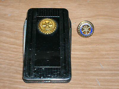 Vintage Rotary International 10K Lapel Pin And Imperial Pocket Knife
