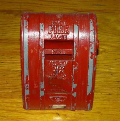 "Vintage ""EDWARDS"" LOCAL FIRE ALARM PULL STATION UNIT"