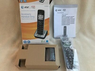 NEW ! AT&T CL80100 DECT 6.0  Handset for Multiple Base Stations See Description