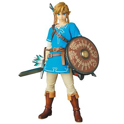 Medicom The Legend Of Zelda: Breath Of The Wild: Link Real Action Heroes Figure