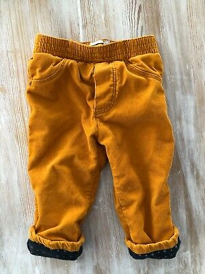 Catimini France Baby Boy Pants Mustard Corduroy Size 12 Months / 1 Or 74cm