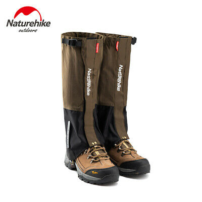 Outdoor Waterproof Snow Gaiters Hiking Climbing Windproof Snow Legging Gaiters