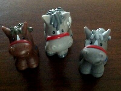 Fisher Price Little People 3 Horse/Colt 2001