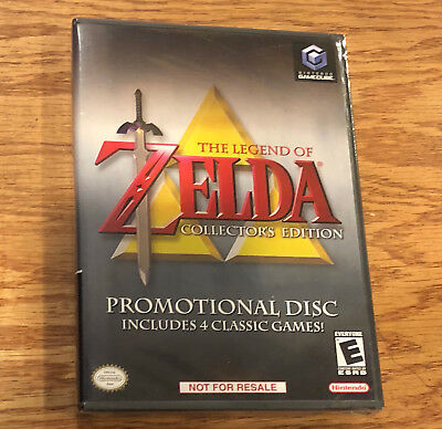 Legend of Zelda Collector's Edition BRAND NEW FACTORY SEALED Nintendo GameCube