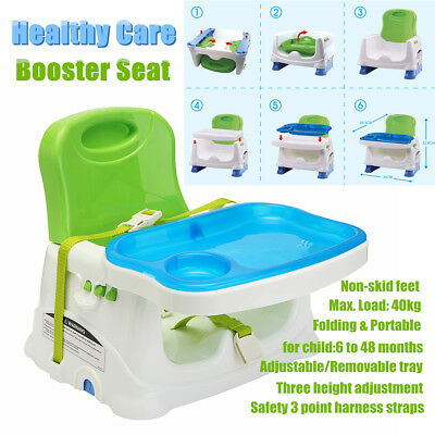 Portable Baby High Chair Infant Toddler Eating Feeding Booster Folding Highchair
