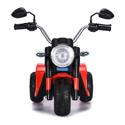 Toy Battery Powered Electric 3 Wheel Bicycle Red 6v Kids Ride On