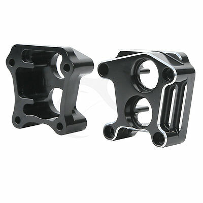 Black Front Rear Lifter Tappet Block Cover For Harley Davidson Twin Cam 99-17 15