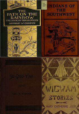250 Old Books On Native American Indians, History, Culture, Chiefs, Wars & More