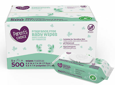 Parent's Choice Fragrance Free Baby Wipes (Choose Your Count)