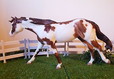 Breyer Traditional Custom Etched Roxy Dont Look Twice, OOAK NO RESERVE!!