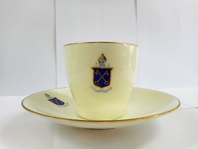 Royal Doulton Collegiate School Of St Peters Adelaide Crested Cup & Saucer
