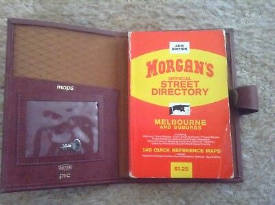 MORGANS OFFICIAL STREET DIRECTORY Melbourne & Suburbs 46th EDITION ~ COLLECTABLE
