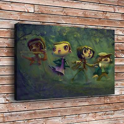"Stranger Things Painting HD Canvas Print 24""x38"" Home Decor Wall Art Picture"