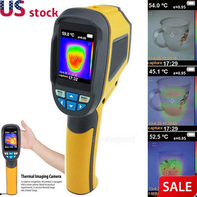 HT-02D Handheld Thermal Imaging Camera Infrared Thermometer Imager IR 300℃ US
