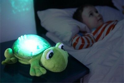 Cloud B Tranquil Frog-Night Light with Relaxing Music