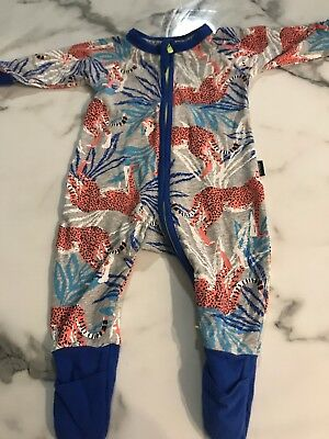 Bonds Wondersuit. Size 000. Leopard Pattern