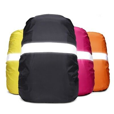 Waterproof Backpack Bag Cover Elastic Rope Reflective Strip Safty Cover Hiking