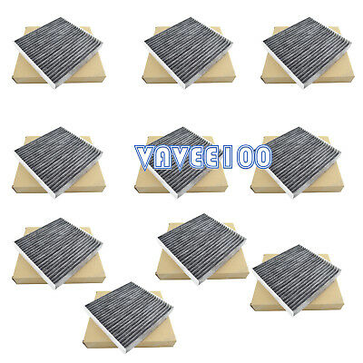 10 For HONDA ACCORD CABIN AIR FILTER Acura Civic CRV Odyssey C35519 HIGH QUALITY