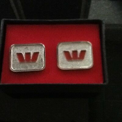 Westpac Cufflinks in original box