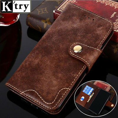 Rivet Flip Leather Wallet Phone Stand Case Cover For Ulefone 3S S7 Mix2 S8 Metal