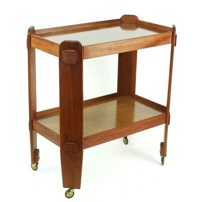 Vintage Retro 2 Tier Trolley Serving Table - FREE Shipping  [PL4582]