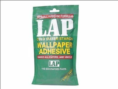 Polycell 5 Roll LAP Wallpaper Adhesive Easy mixing to smooth paste White