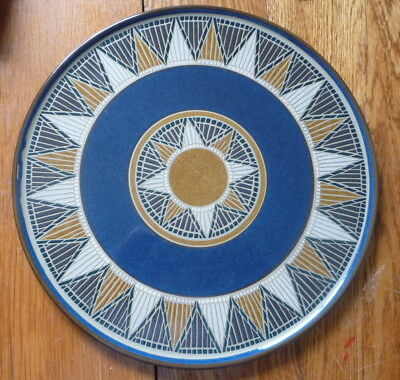 Denby Round Platter 'Boston Spa' 32cms 12 1/2""