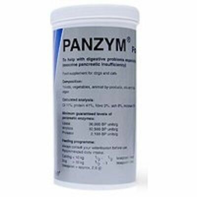 Panzym Powder 170g Pancreatic Enzyme Supplement For Dogs And Cats