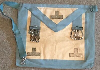 Craft Lodge Worshipful Master Apron Lambskin - Masonic Freemason